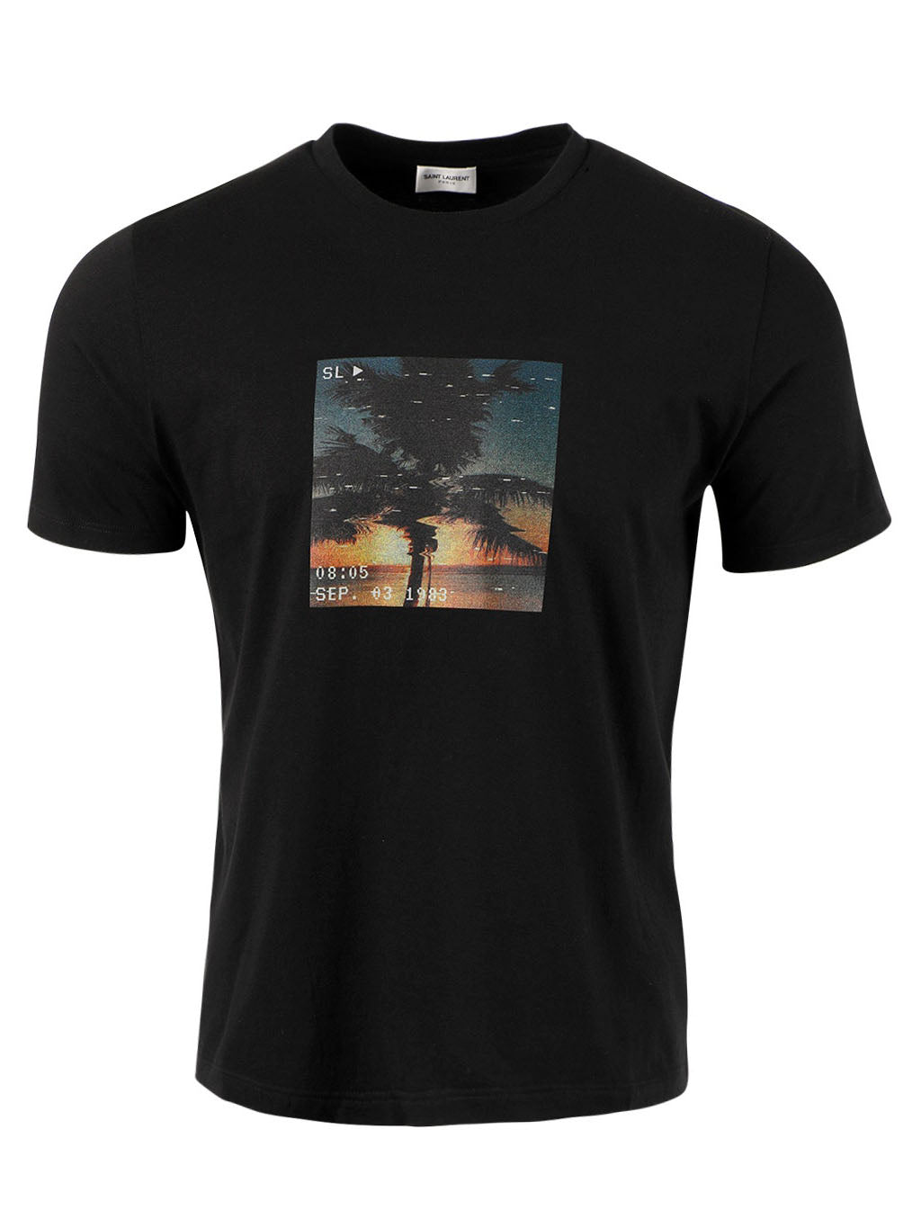 Black VHS Sunset T-shirt