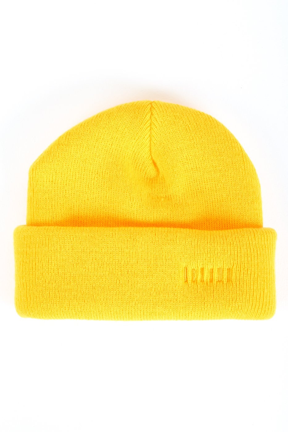 Yellow Two-Way Beanie Hat