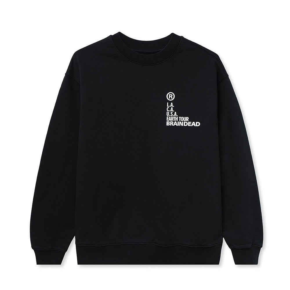 Black Fractal Sweatshirt