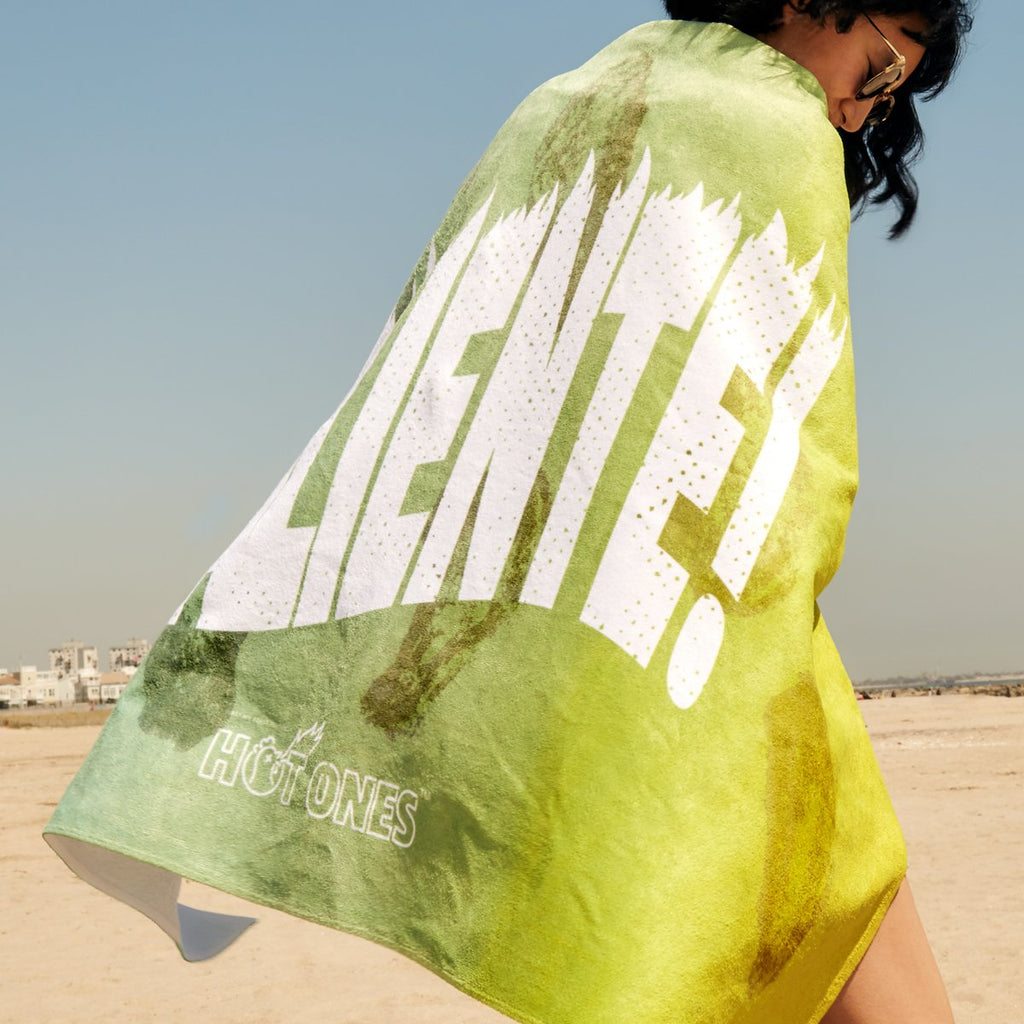 Hot Ones ¡Caliente! Beach Towel