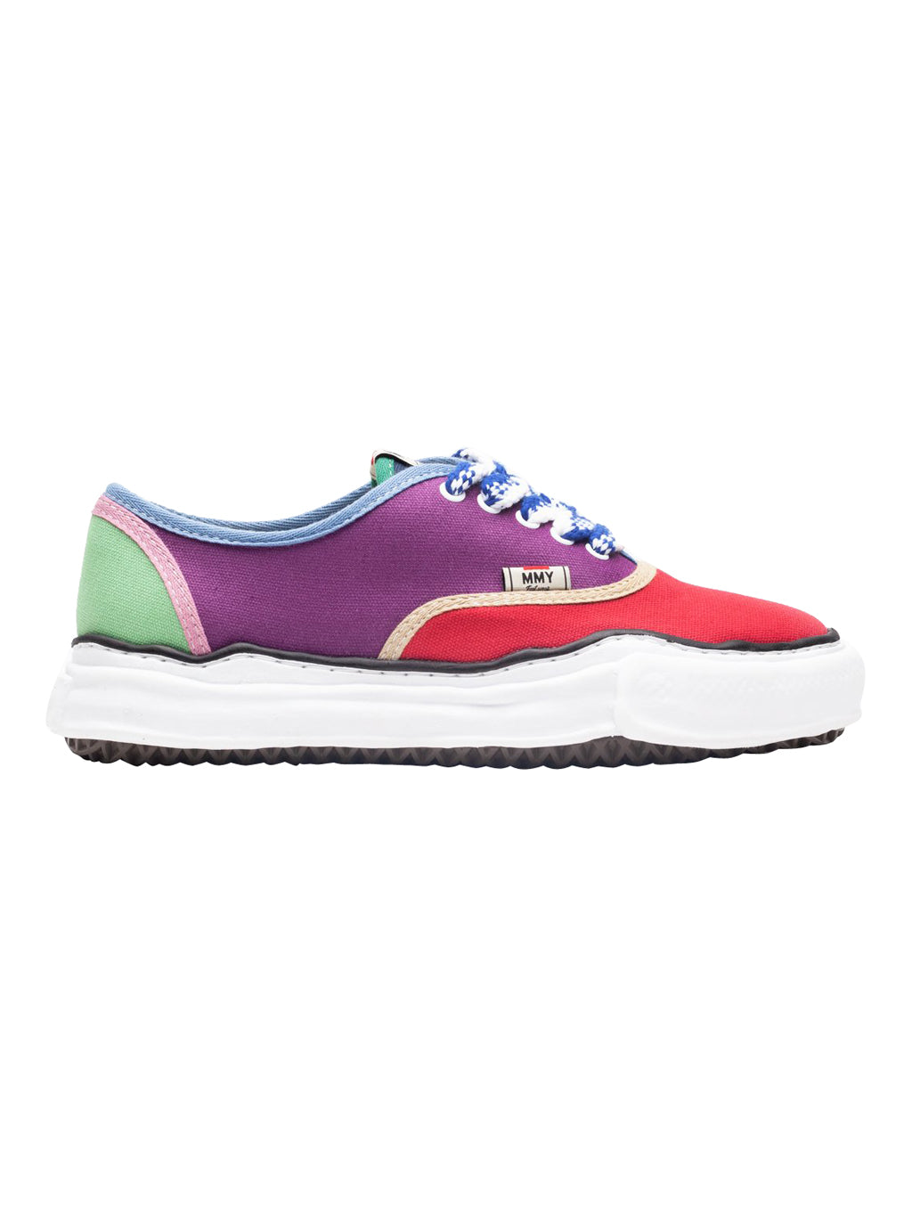Multi Color Baker Low Top Sneakers