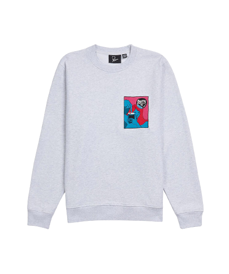 Grey Neurotic Comic Sweatshirt