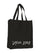 Black Cotton Logo NY/LA Tote Bag thumbnail 1