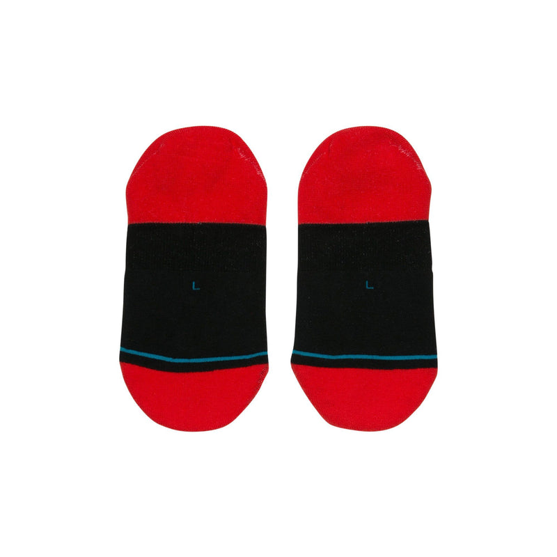 Red NBA Chicago Bulls Invisible Socks