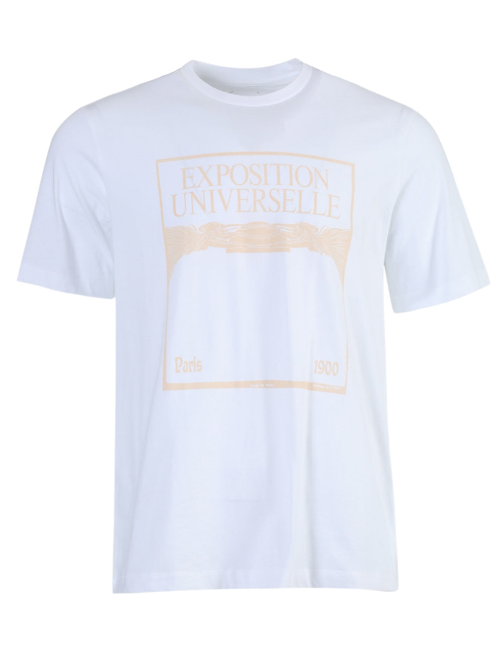 White Exposition Universelle Graphic T-Shirt