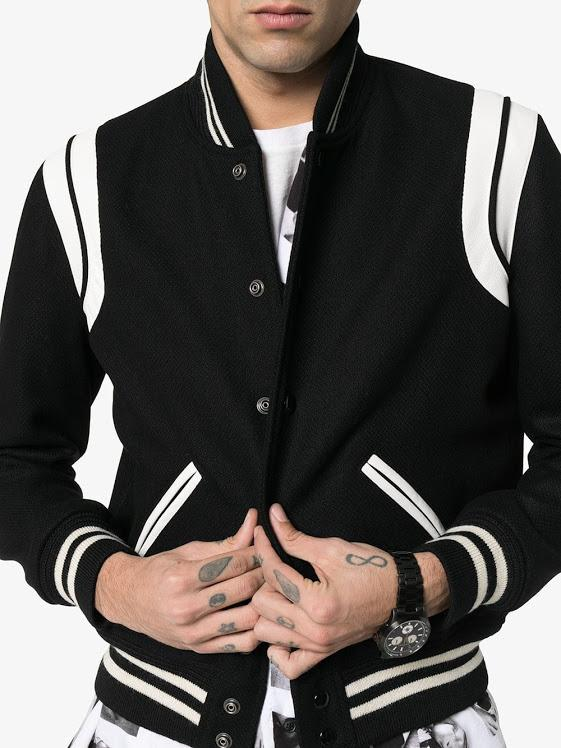 Black & White Teddy Jacket