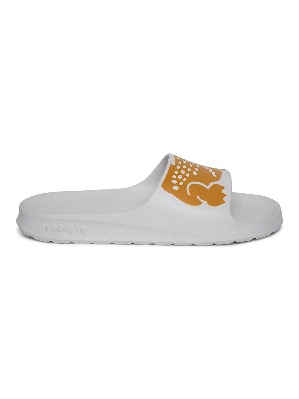 White and Yellow X Ricky Regal Croco Slides 2.0 Vegas