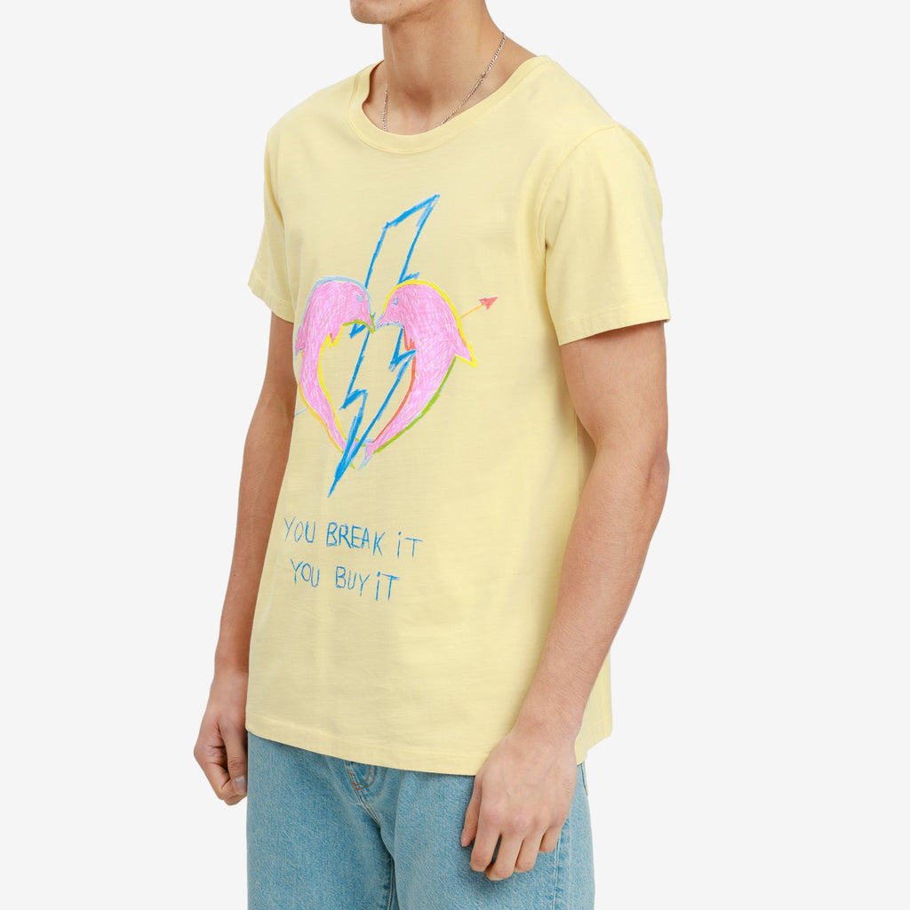 Yellow You Break It T-shirt