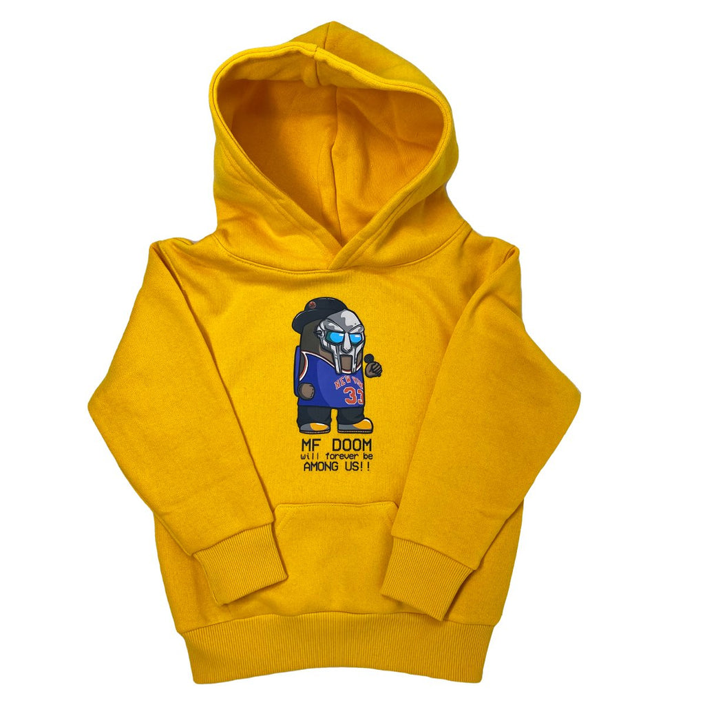 Yellow Forever Among Us Hoodie