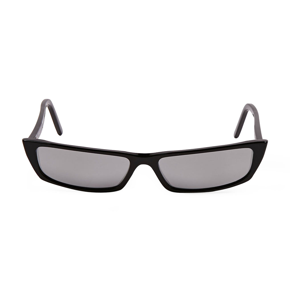Black & Silver Mirror Agar Sunglasses