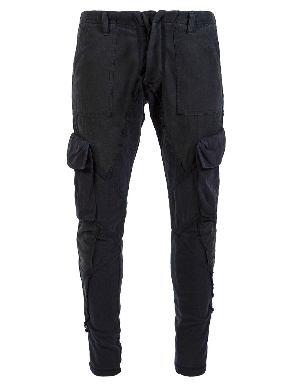 Black 50 50 Baker Cargo Pants