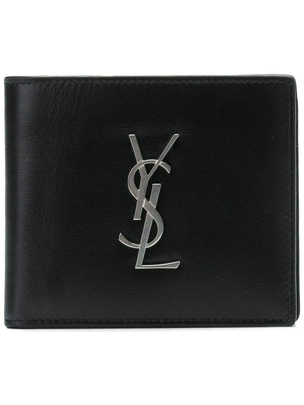 Black Ultrasoft Monogram Wallet