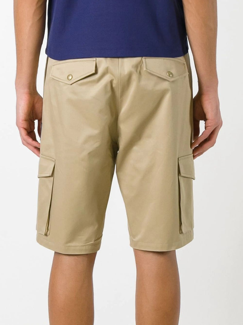 Khaki Bermuda Cotton Shorts
