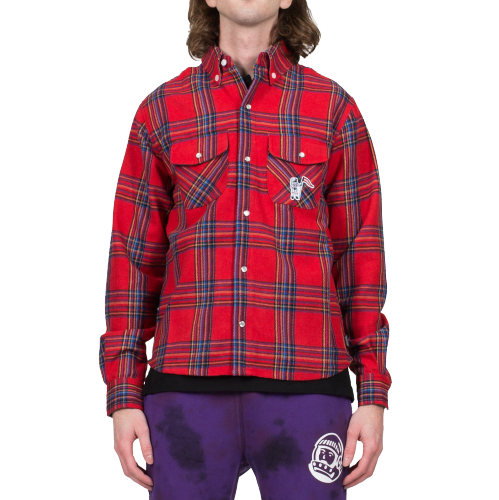 Red Astro Check Shirt