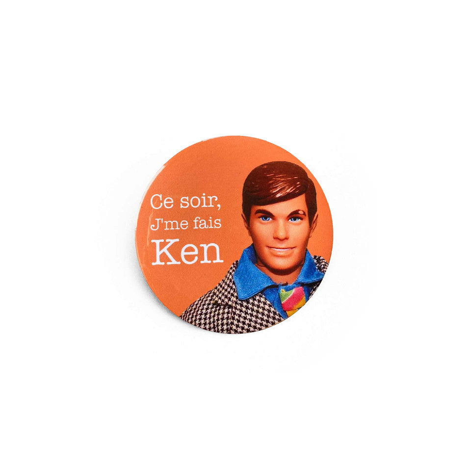 Badge et magnet Ken 3 de Red Orb Creations