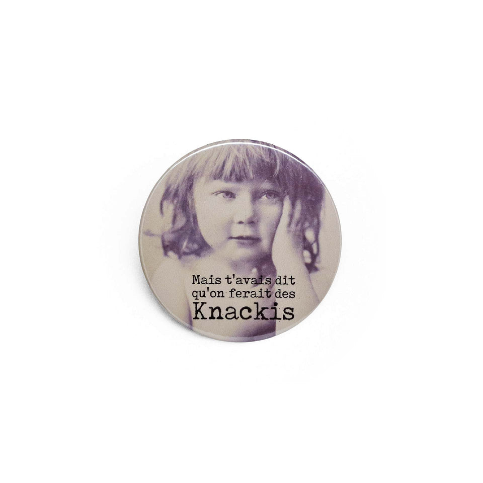 Badge et magnet knackis de Red Orb Creations
