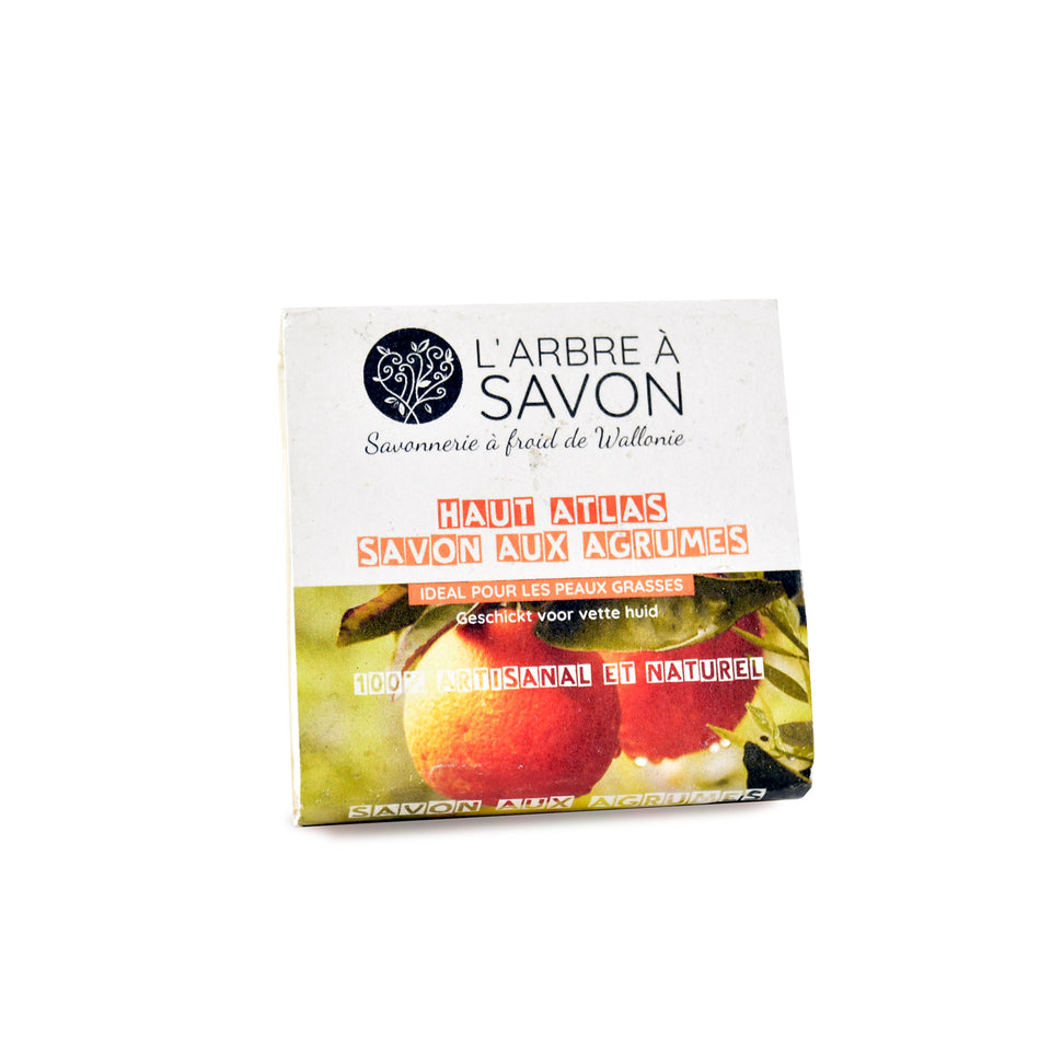 Packaging savon solide aux agrumes