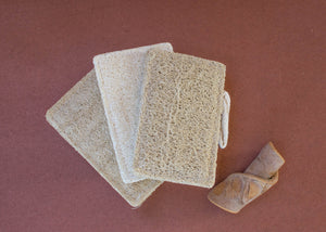 Reusable Organic Loofah Set