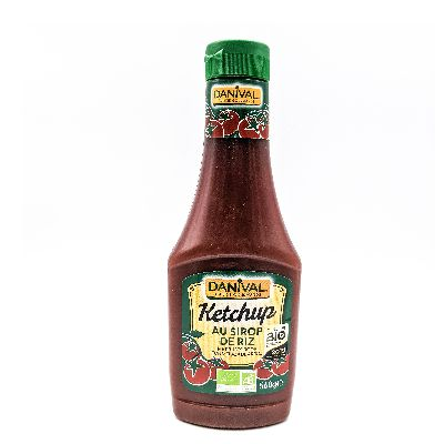 Ketchup Ss Sucre Flacon Souple 560g Danival