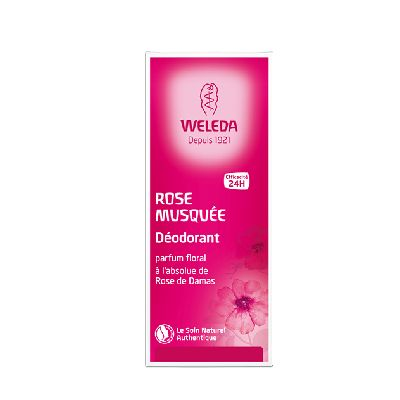 Deodorant Rose 24H 100Ml Weleda.