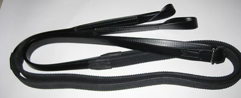 RACE REINS 5/8 INCH PVC WITH LOOP ENDS