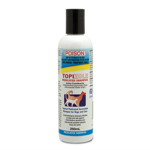 FIDOS TOPIZOLE SHAMPOO 250ML