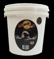 HAIR IN A BUCKET