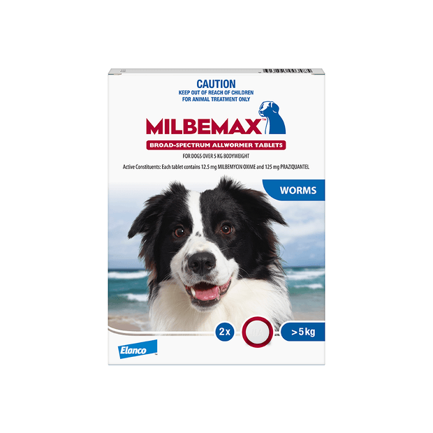 MILBEMAX DOG WORMER TO 25KG