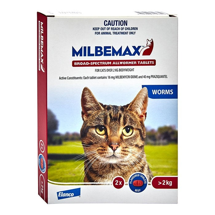 MILBEMAX LARGE CAT TAB 2S