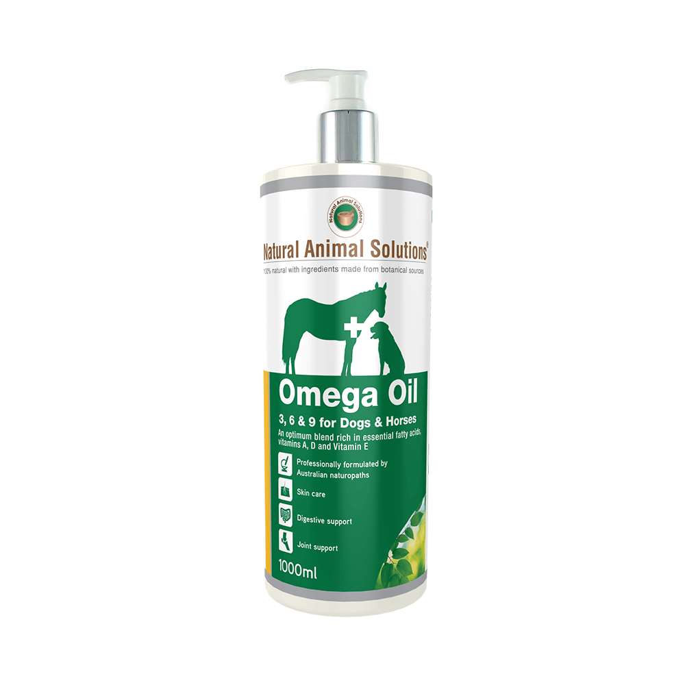 OMEGA OIL 3, 6 AND 9 FOR DOGS