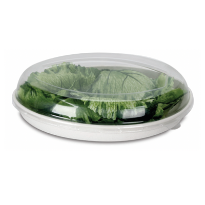 Large Compostable Burrito Bowl Lid (26 oz)