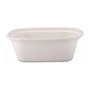48 oz Compostable Sugarcane Rectangle Bowl