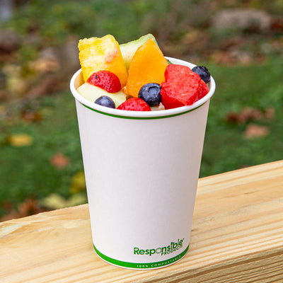 32 oz Compostable Paper Bowl
