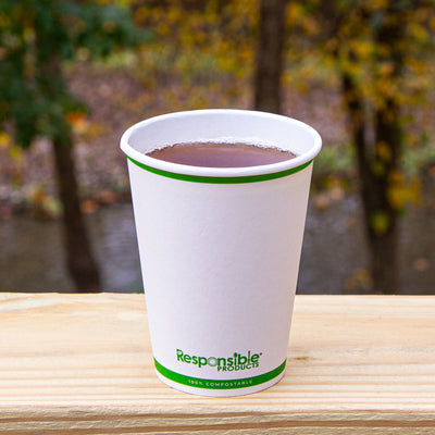 12 oz Compostable Paper Cup