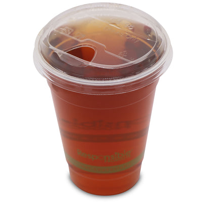 Compostable Clear Cup Sip Lid