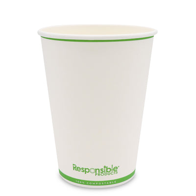 16 oz Compostable Paper Cup