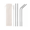 Reuseable Stainless Steel Straw Kit