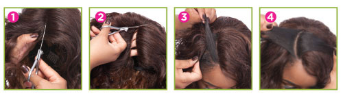 HQ LACE FRONT - EDGE STYLE 004