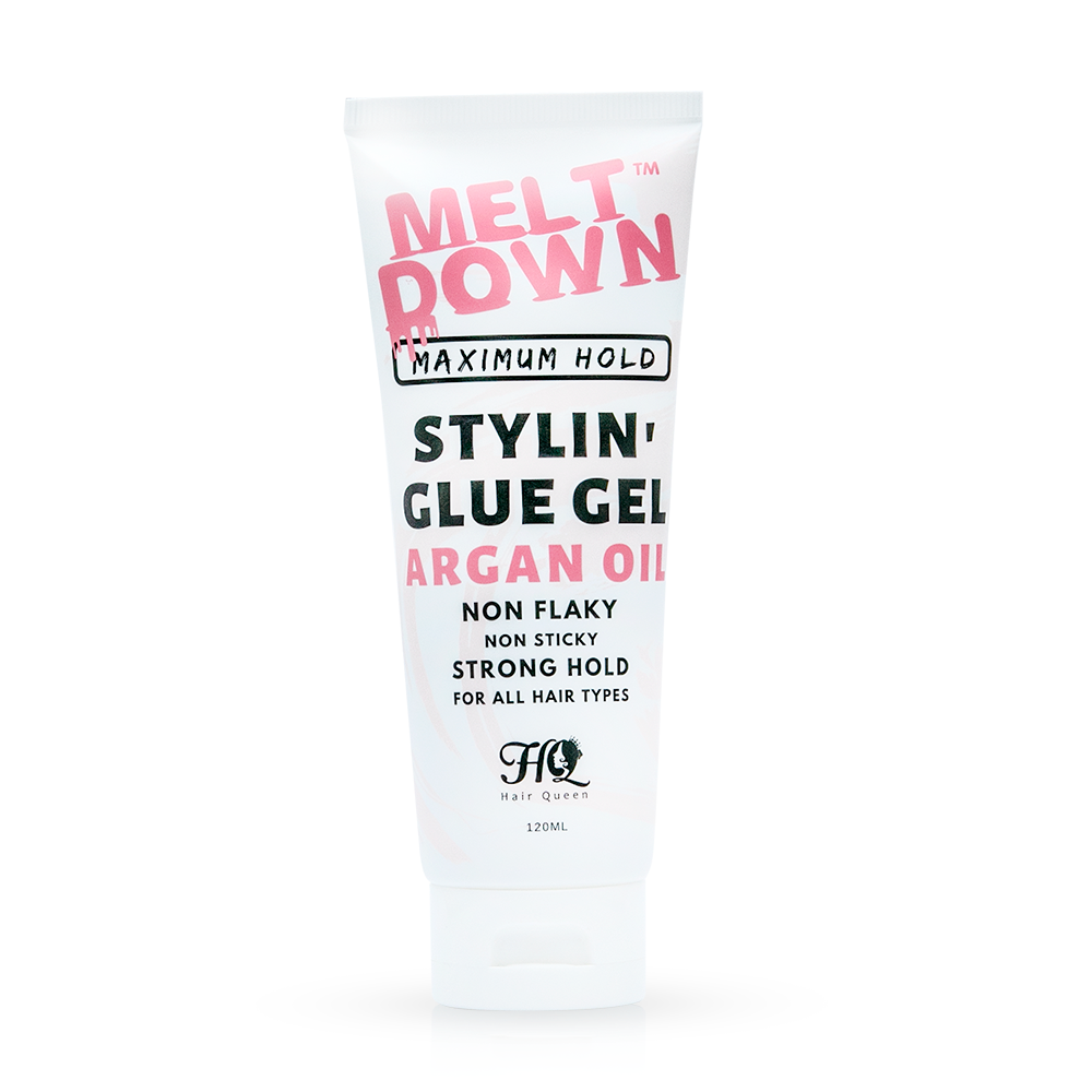 Meltdown Stylin' Glue Gel Argan Oil Strong Hold