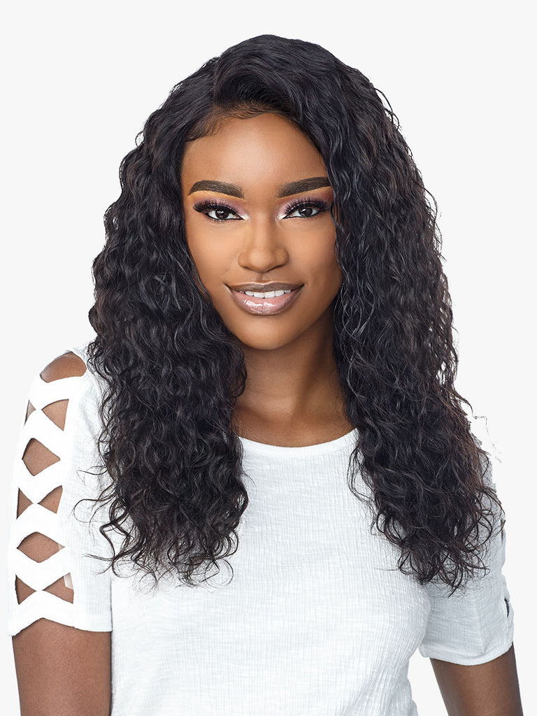 HQ 10A 360 LACE WIG DEEP CURLY 22""