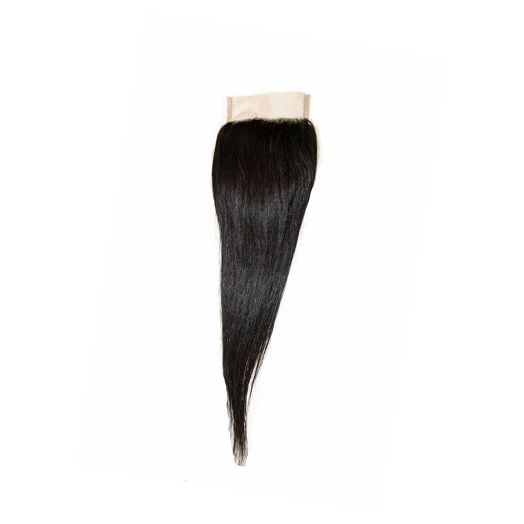 Crown Jewels Brazilian Straight 4x4 Lace Closure