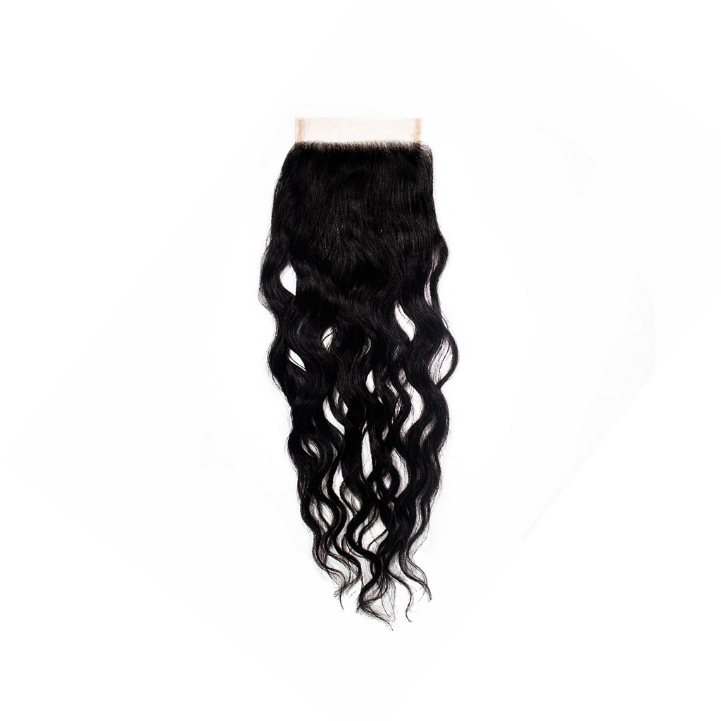 Crown Jewels Brazilian Ocean Wave 4x4 Lace Closure