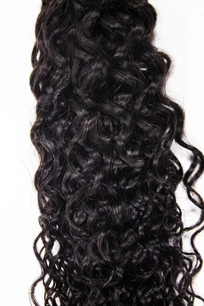Crown Jewels Natural Bohemian Curl 4x4 Lace Closure