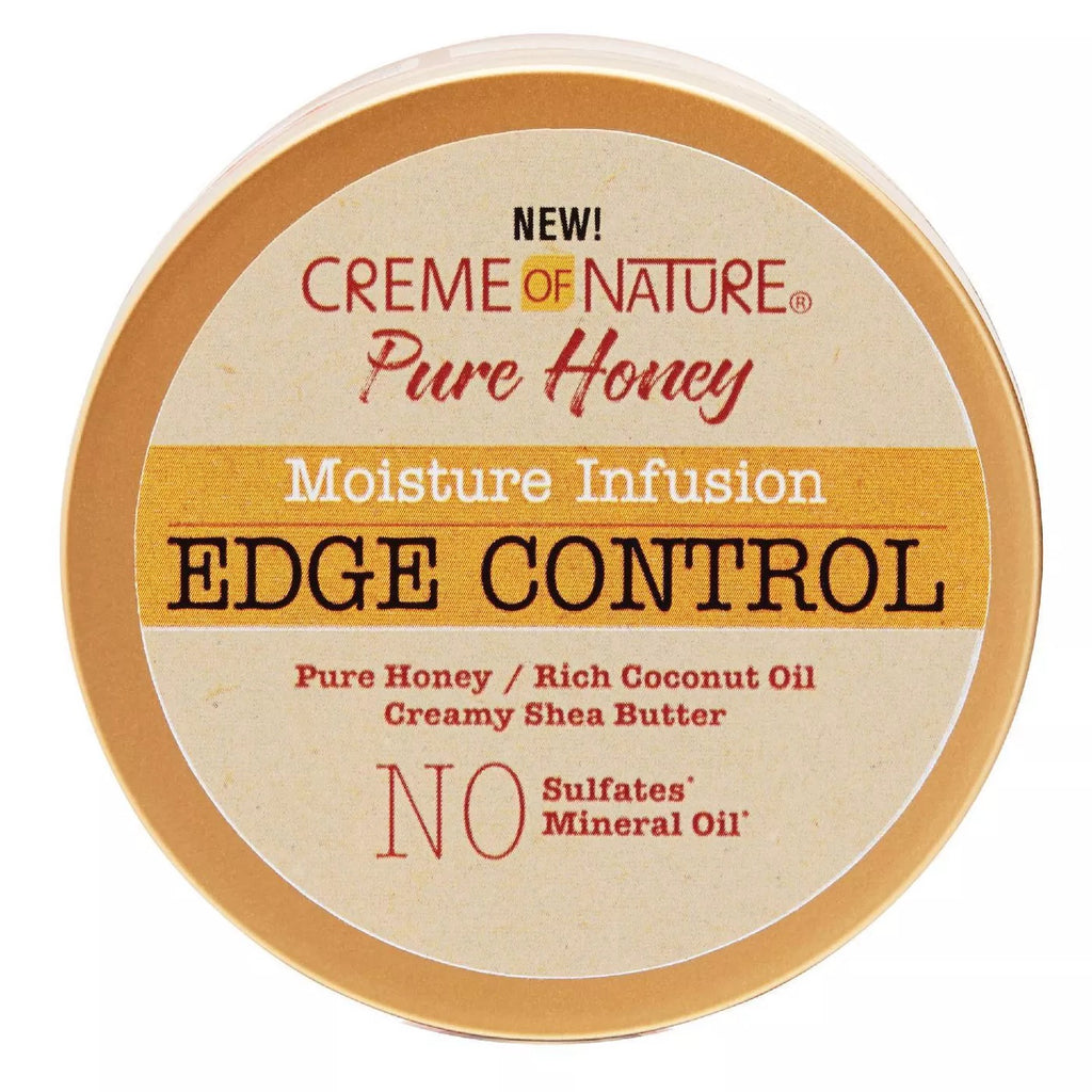 Creme Of Nature - Pure Honey Moisture Infusion Edge Control Gel