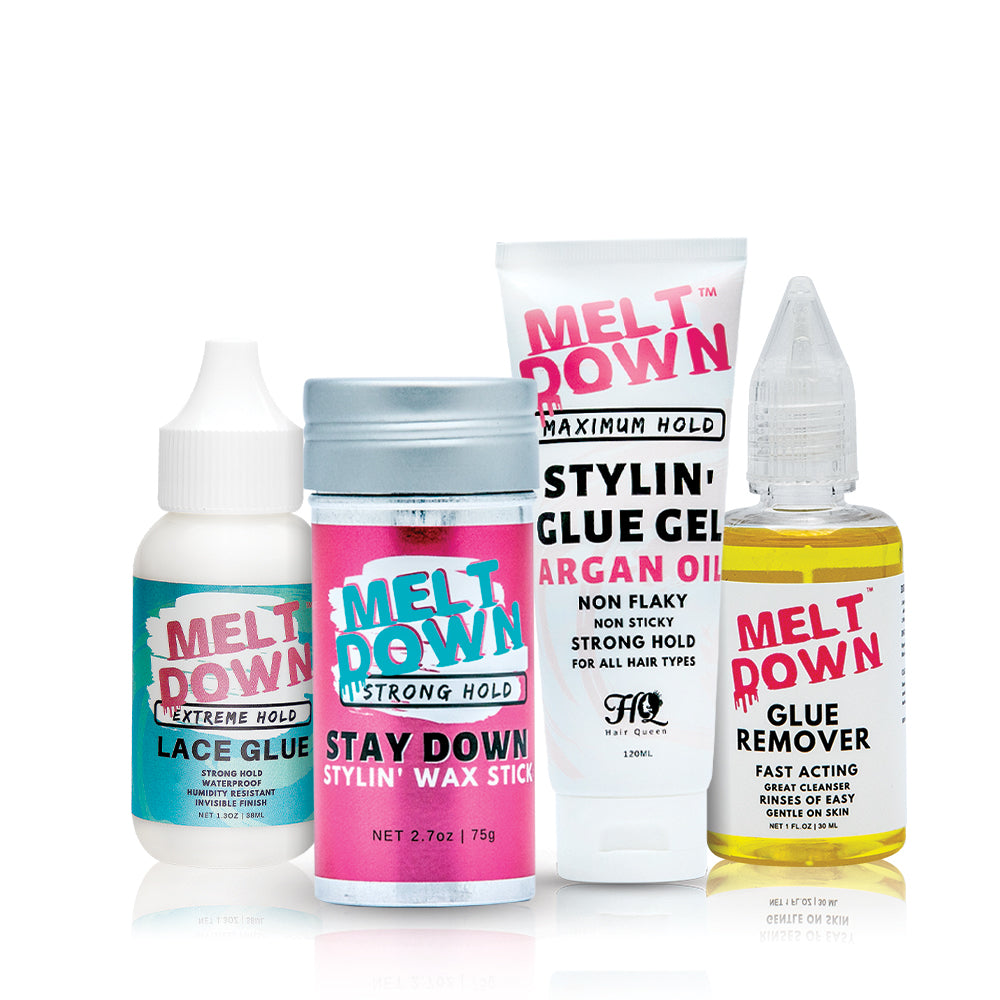 Meltdown Essentials 4 Pack Wax Styling Bundle