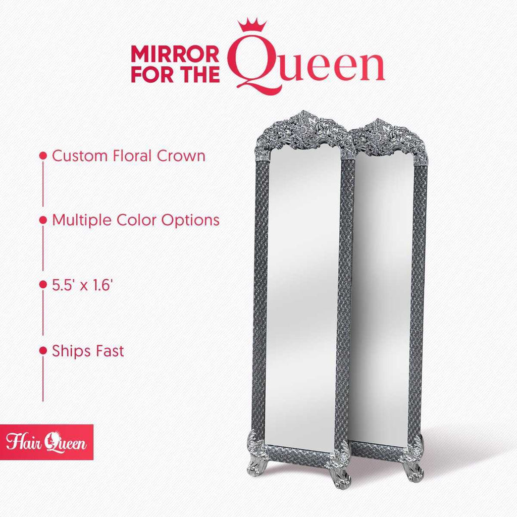 HAIR QUEEN LUXURY STAND UP MIRROR
