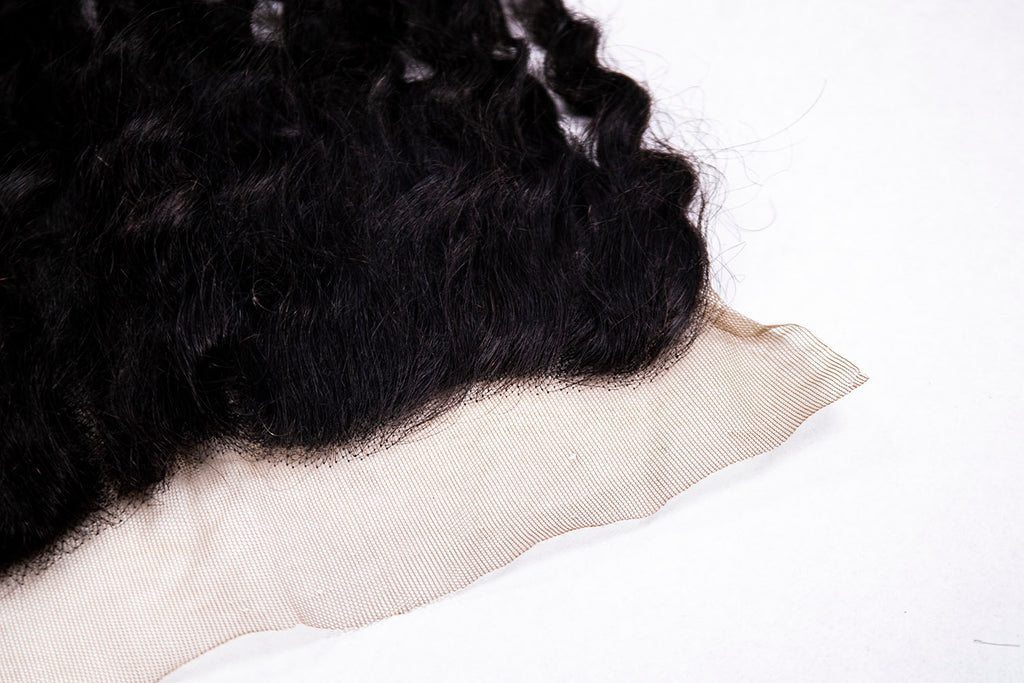 Crown Jewels Brazilian Pineapple Wave 13x4 Lace Frontal Closure