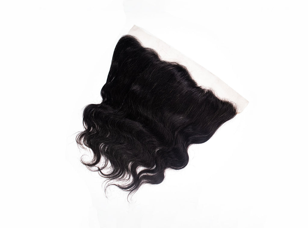 Crown Jewels Brazilian Body Wave 13x4 Lace Frontal Closure