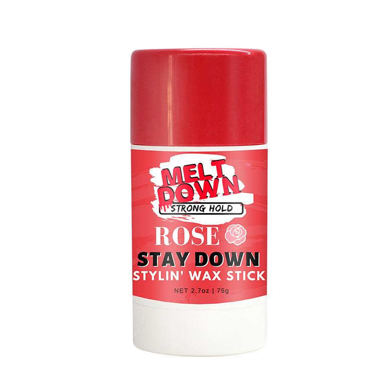 Rose Scent Stay Down Wax Stick