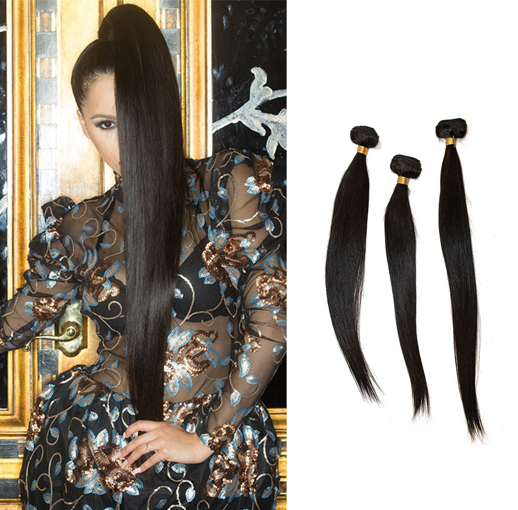 Crown Jewels Brazilian Straight 3 Bundles